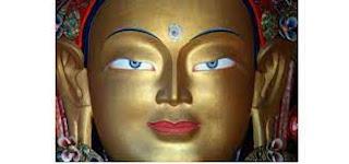 Olhos de Buda: terceiro olho aberto.