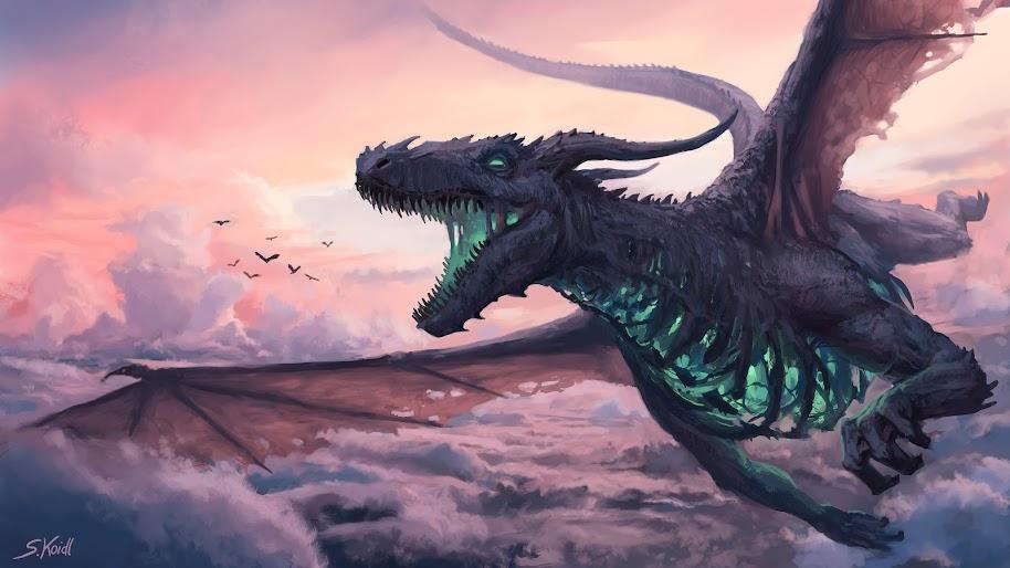 Dragon, Fantasy, 4K, #63 Wallpaper