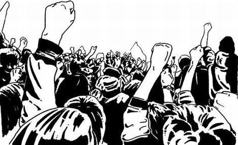 """Συλλαλητήριο ενάντια στο """"αναπτυξιακό συνέδριο"""" του ΣΥΡΙΖΑ στην Πελοπόννησο"""