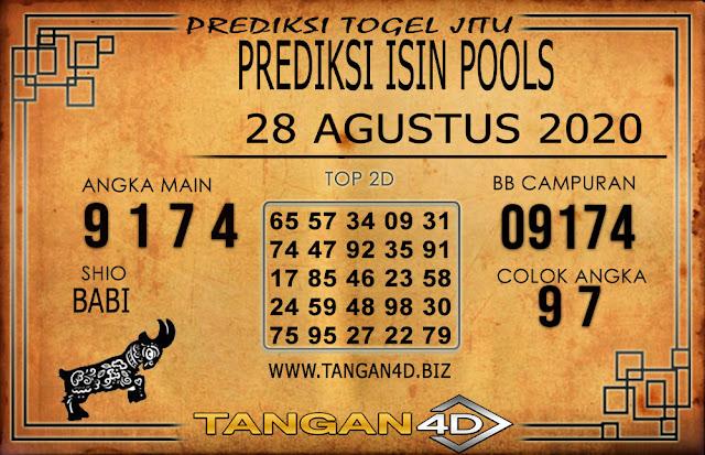 PREDIKSI TOGEL ISIN TANGAN4D 28 AGUSTUS 2020