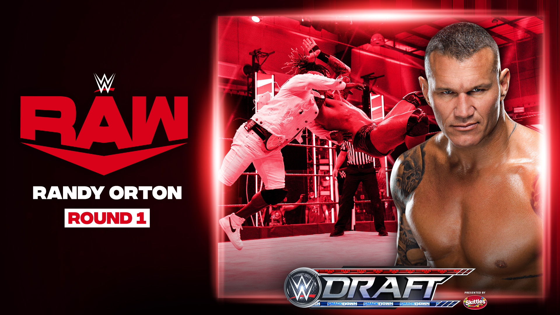 Randy Orton drafted to WWE RAW