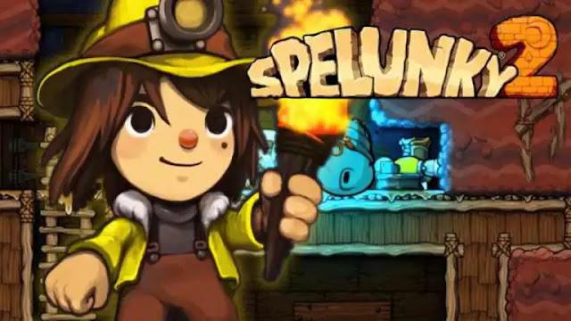 تحميل لعبة Spelunky 2 مجانا