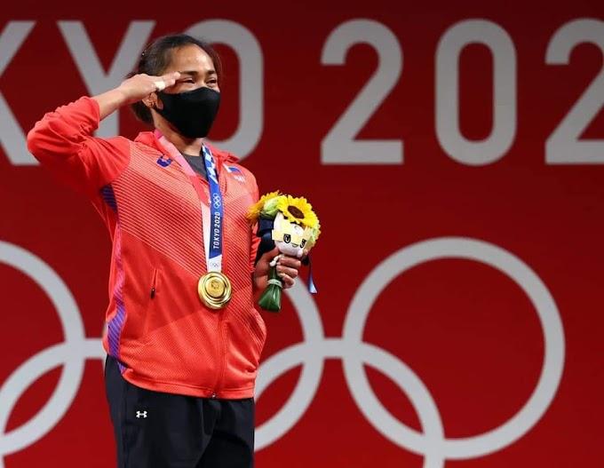 قصة كفاح الفلبينية هيدلين دياز وتحقيق الميدالية الذهبية لرفع الاثقال في أولمبياد طوكيو