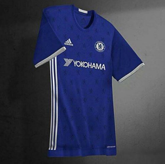 Chelsea 2016-17 Kit For Home, Away Matches