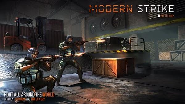 Modern Strike Online v1.21.0 [MEGA MOD + APK+ DATOS OBB]