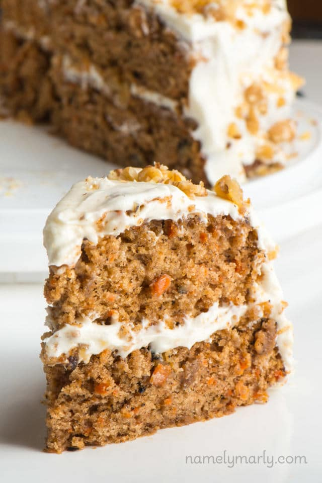Vegan Carrot Cake #Vegan #Carrot #Cake #VeganCarrotCake
