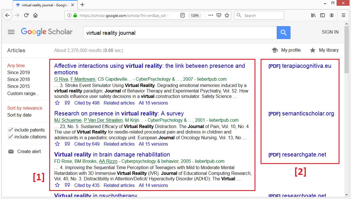 Cara Mencari Jurnal Internasional Di Google Scholar Mudah Banget Klik Refresh