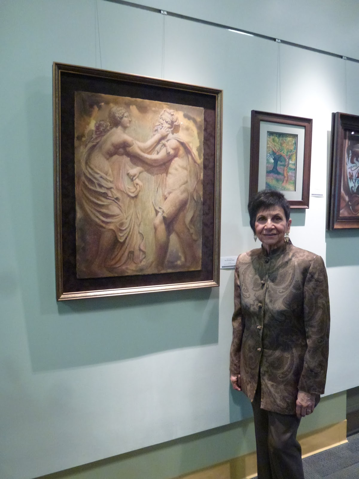 Roberta Kritzia — Artist and Tour Designer: One Woman Exhibition at
