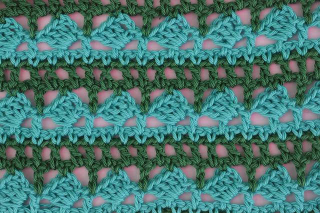 5 - Crochet Imagen Puntada para poncho de verano a crochet y ganchillo por Majovel Crochet
