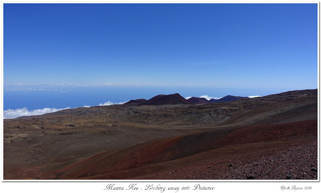 Mauna Kea: Looking away into Distance