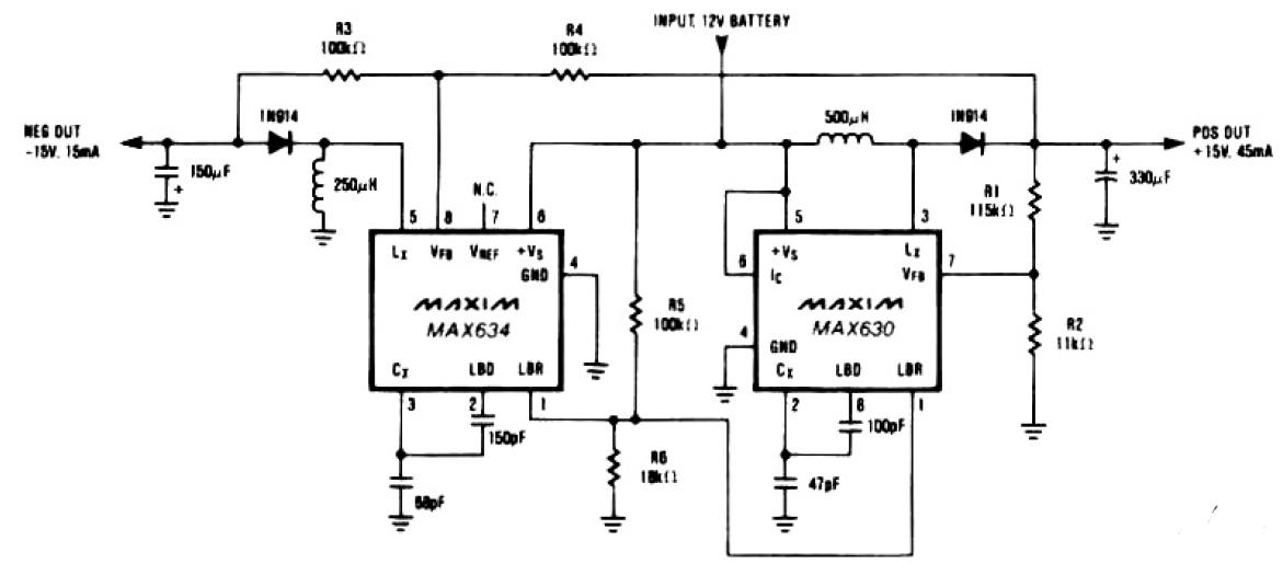 dual tracking regulator circuit