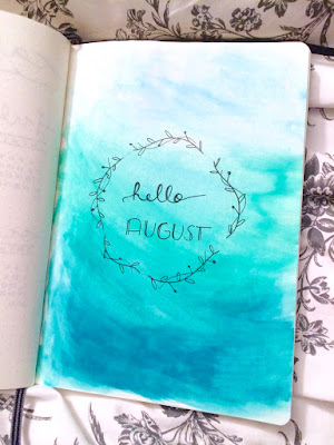 Alexandra & Co, Bullet journal, Agenda, Organisation, Tâches, Aquarelle