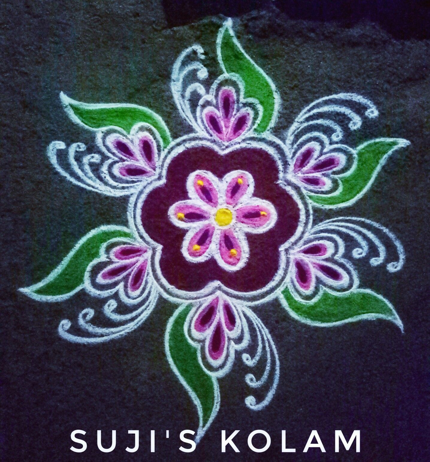 275 Simple And Easy Rangoli Designs With Dots For Home 2020