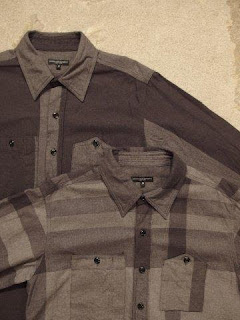 "Engineered Garments ""Work Shirt - Big Plaid & Big HB St."""