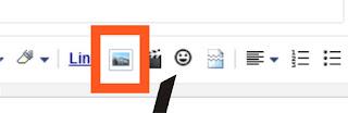 cara unggah foto ke postingan blogger