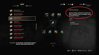 Alchemy recipe for Superior Blizzard in Witcher 3.