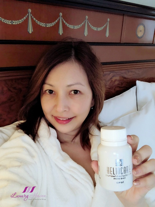 singapore beauty influencer reviews heliocare purewhite radiance max