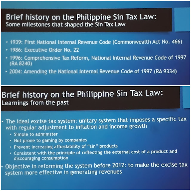 Sin Taxes in the Philippines (Its Features, Impact and Potential)  by Jo-Ann L. Diosana of Action for Economic Reforms (AER)