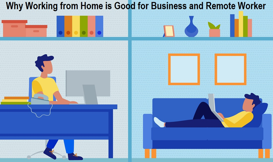 Why Working from Home is Good for Business
