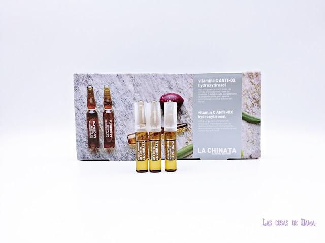 vitamina c glow beauty skincare belleza cosmética dermocósmetica cuidado facial La Chinata antimanchas iluminado