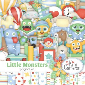 Little Monsters from Kim Cameron Designs