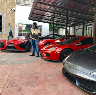 dino melaye car garage