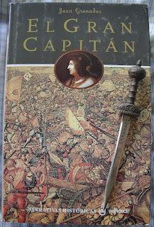 Portada del libro El Gran Capitán, de Juan Granados