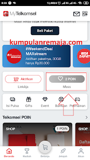 cek point telkomsel dengan my telkomsel