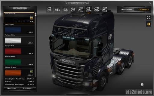 Scania Dark Diamond skin