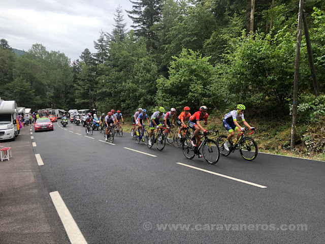 Tour de Francia en el Ballon d'Alsace | Alsacia y la Selva Negra en autocaravana