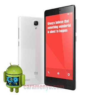 Cara Flash Xiaomi Redmi Note 4G (Dual SIM)