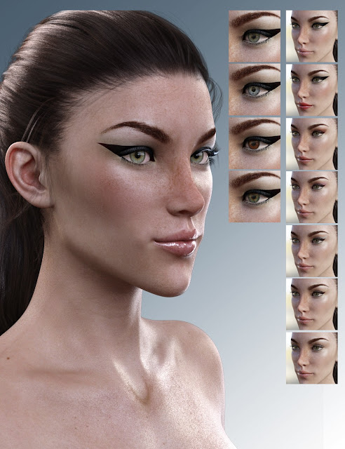 X-Leonore for Genesis 3 Female