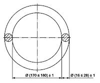 Размеры гимнастических колец