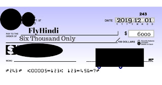Cheque kaise bhare