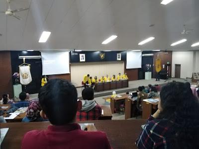 Kuliah S2 di UI - Ospek hari pertama di universitas indonesia