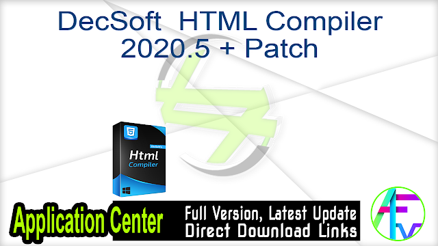 DecSoft  HTML Compiler 2020.5 + Patch