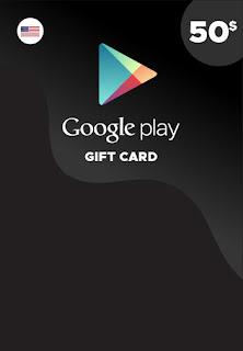 ستور جوجل بلاي 50$ مجانا
