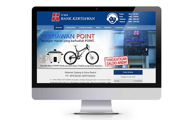 Website BPR Bankkertiawan.com