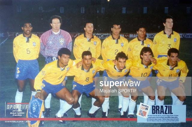 BRAZIL FOOTBALL TEAM WORLD CUP USA 94