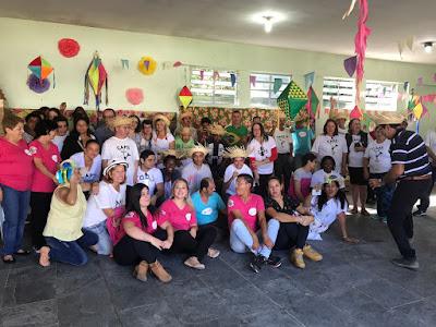 Festa Junina no CAPS em Iguape
