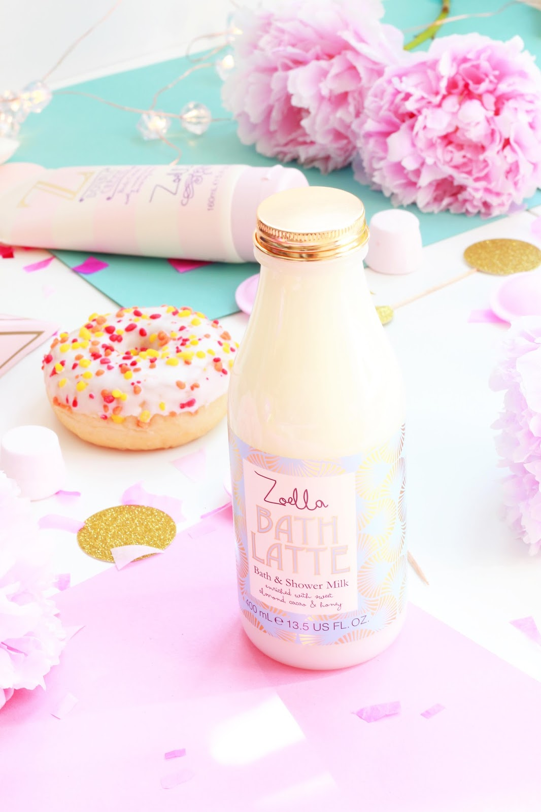 Beauty, Zoella Beauty, Drugstore, Zoella, Feel Unique, Zoe Sugg, Zoella Beauty range, Zoella Sweet Inspirations, Youtuber, Bath Latte, Zoella Bath latte
