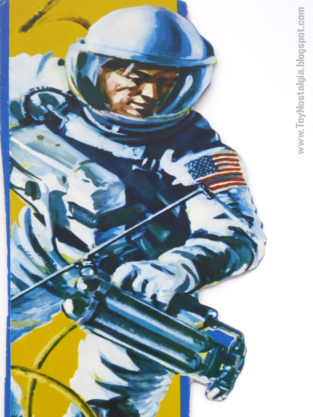 ACTIONMAN Astronauta Ilustración del envase (ACTION MAN ASTRONAUT  HASBRO-PALITOY)