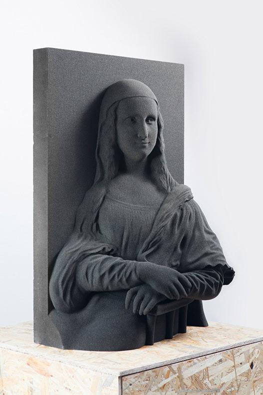 Arte Invisible: Pinturas clásicas impresos en 3D para los ciegos