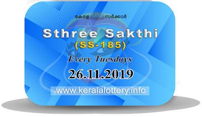 "KeralaLottery.info, ""kerala lottery result 26.11.2019 sthree sakthi ss 185"" 26th November 2019 result, kerala lottery, kl result,  yesterday lottery results, lotteries results, keralalotteries, kerala lottery, keralalotteryresult, kerala lottery result, kerala lottery result live, kerala lottery today, kerala lottery result today, kerala lottery results today, today kerala lottery result, 26 11 2019, 26.11.2019, kerala lottery result 26-11-2019, sthree sakthi lottery results, kerala lottery result today sthree sakthi, sthree sakthi lottery result, kerala lottery result sthree sakthi today, kerala lottery sthree sakthi today result, sthree sakthi kerala lottery result, sthree sakthi lottery ss 185 results 26-11-2019, sthree sakthi lottery ss 185, live sthree sakthi lottery ss-185, sthree sakthi lottery, 26/11/2019 kerala lottery today result sthree sakthi, 26/11/2019 sthree sakthi lottery ss-185, today sthree sakthi lottery result, sthree sakthi lottery today result, sthree sakthi lottery results today, today kerala lottery result sthree sakthi, kerala lottery results today sthree sakthi, sthree sakthi lottery today, today lottery result sthree sakthi, sthree sakthi lottery result today, kerala lottery result live, kerala lottery bumper result, kerala lottery result yesterday, kerala lottery result today, kerala online lottery results, kerala lottery draw, kerala lottery results, kerala state lottery today, kerala lottare, kerala lottery result, lottery today, kerala lottery today draw result,"