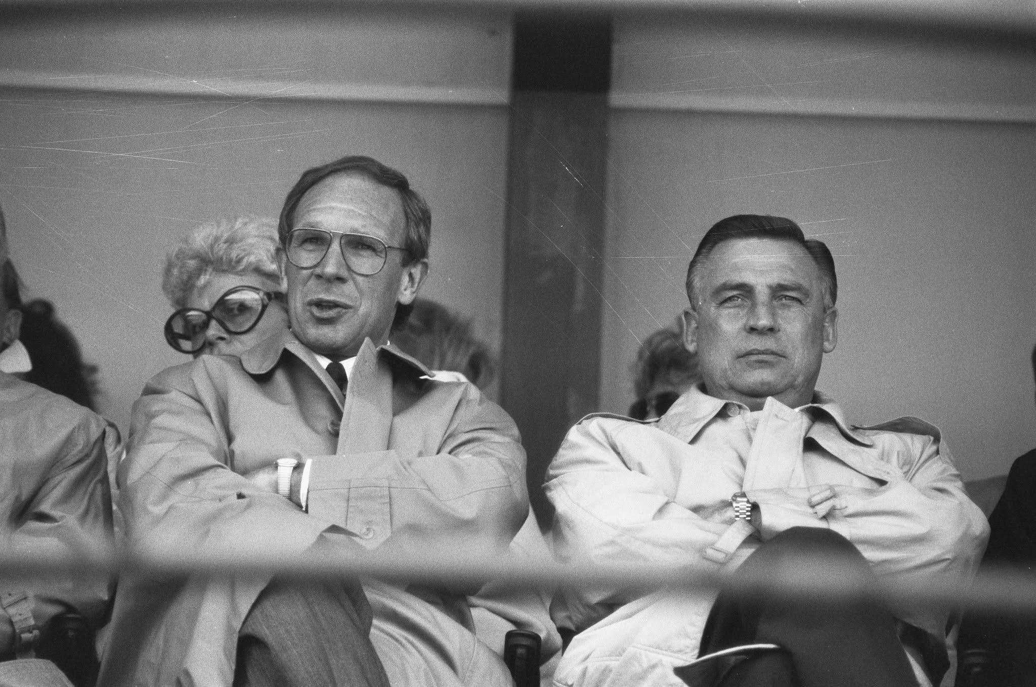 Hans Kraaij en Gerard Kerkum