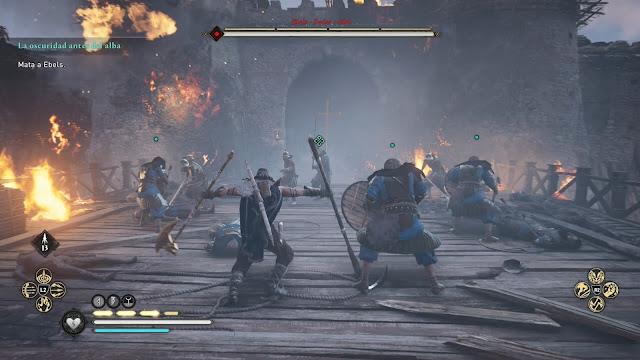 Asalto Análisis de Assassin's Creed Valhalla El asedio de París para PlayStation 4