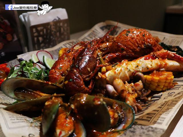 IMG 3674 - 熱血採訪│鐵克諾南洋風味手扒海鮮拼盤超豐盛!搭配超厚龍蝦痛風都快發作了