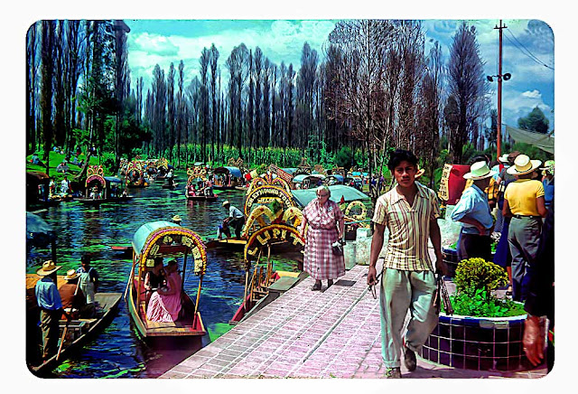 Wonderful Color Photographs Of Daily Life In Mexico During The 1950s Vintage Everyday