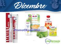 Logo Mia Farmacia : campioni omaggio HIPP e dentifricio Lacalut ! Ricevili gratis
