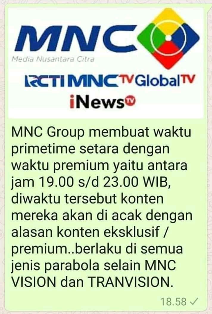 rcti mnc tv gtv diacak 24 jam di parabola